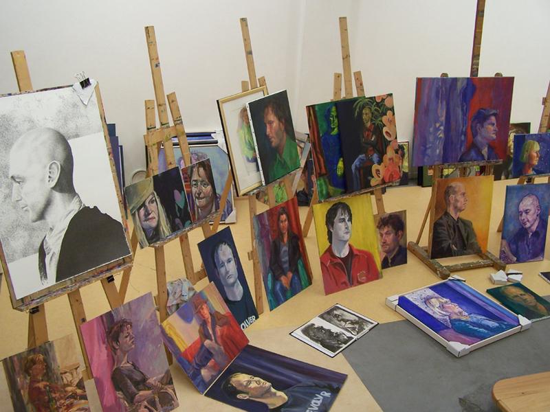 Woest en ledig alle stad groninger dichters op portret - Geschilderde bundel ...
